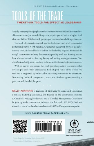Construction Leadership from A to Z : 26 Words to Lead By N/A edition cover