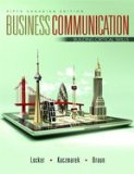 Business Communication Building Critical Skills 5th 2013 edition cover