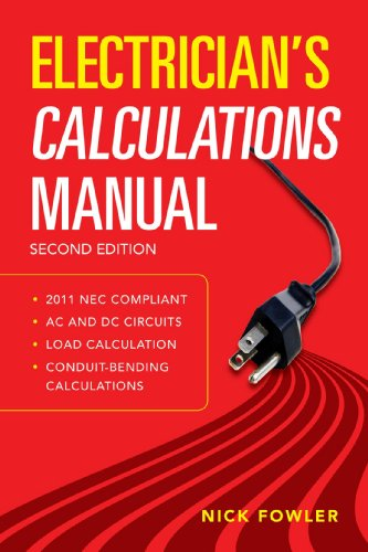 Electrician's Calculations Manual  2nd 2012 edition cover