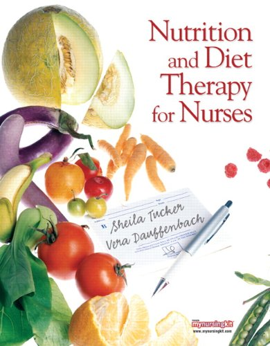 Nutrition and Diet Therapy for Nurses   2011 edition cover