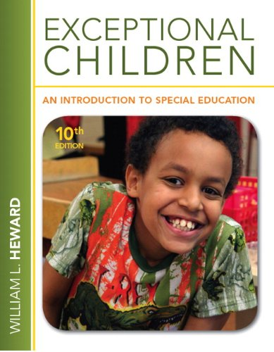 Exceptional Children An Introduction to Special Education 10th 2013 (Revised) 9780132626163 Front Cover