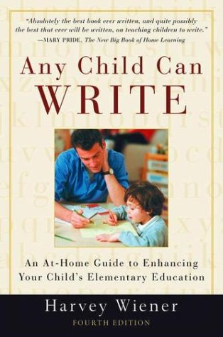 Any Child Can Write  4th 2003 (Revised) edition cover