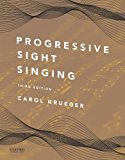 Progressive Sight Singing:  3rd 2016 9780199395163 Front Cover
