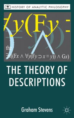Theory of Descriptions   2011 9780230201163 Front Cover