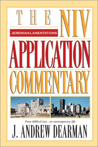 Jeremiah, Lamentations   2002 edition cover