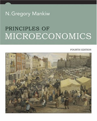 Principles of Microeconomics  4th 2007 edition cover