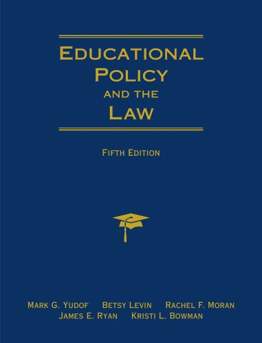 Educational Policy and the Law  5th 2012 edition cover