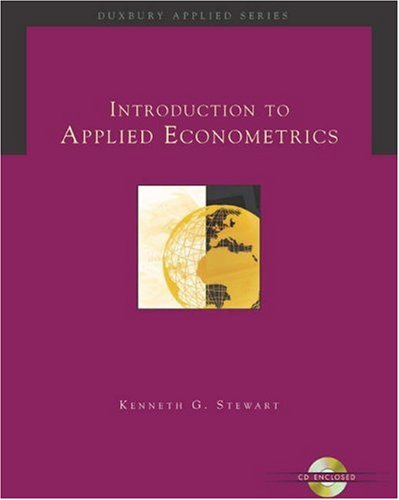Introduction to Applied Econometerics   2005 9780534369163 Front Cover