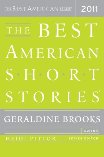 Best American Short Stories 2011   2011 9780547242163 Front Cover