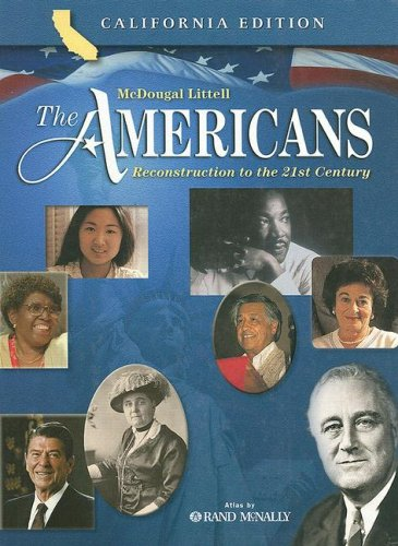 Americans : Reconstruction to the 21st Century  2003 9780618184163 Front Cover