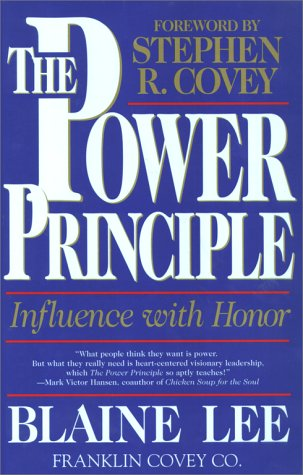 Power Principle Influence with Honor  1998 edition cover