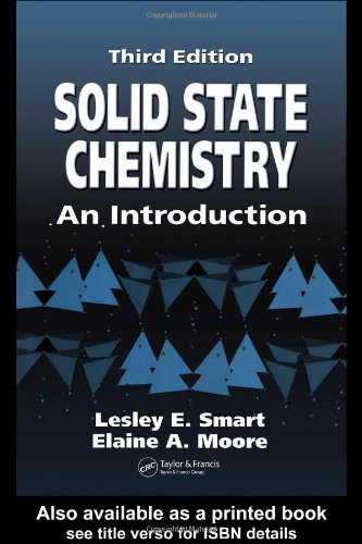 Solid State Chemistry An Introduction 3rd 2005 (Revised) edition cover