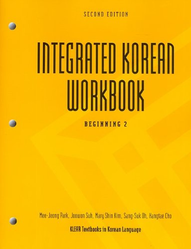 Integrated Korean Beginning 2nd 2010 9780824835163 Front Cover