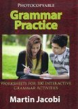 GRAMMAR PRACTICE                        N/A edition cover