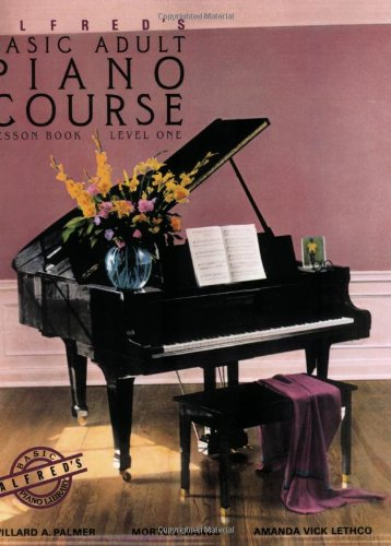 Alfred's Basic Adult Piano Course Lesson Book, Bk 1 Lesson Book  1983 9780882846163 Front Cover