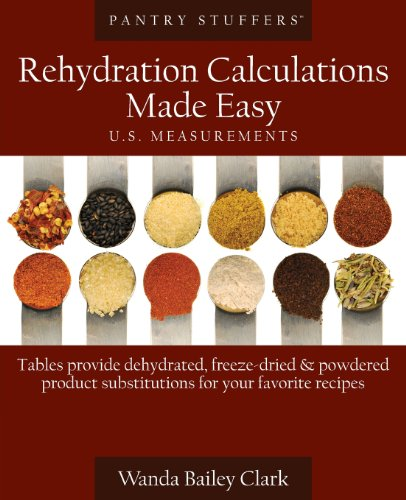 Pantry Stuffers Rehydration Calculations Made Easy: U.S. Measurements / Pantry Stuffers Rehydration Calculations Made Easy: Metric Measurements  0 edition cover