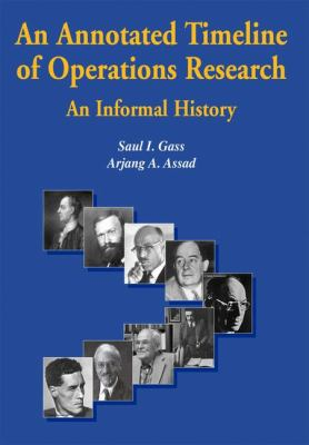 Annotated Timeline of Operations Research An Informal History  2005 9781402081163 Front Cover