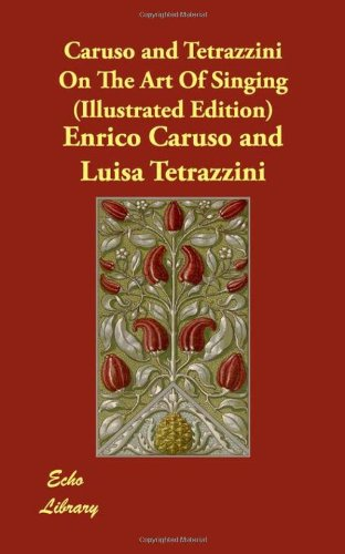 Caruso and Tetrazzini on the Art of Singing  2008 9781406827163 Front Cover