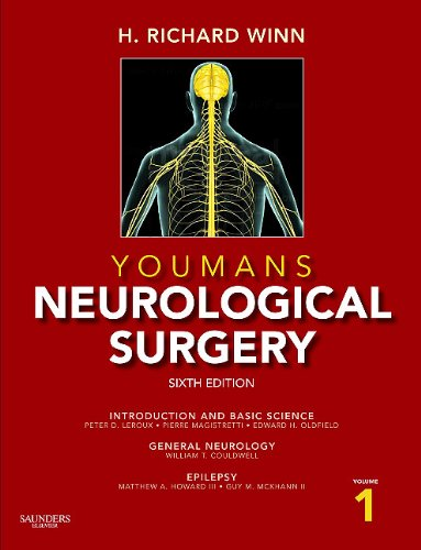 Youmans Neurological Surgery  6th 2011 edition cover