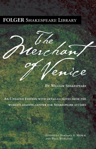Merchant of Venice   2009 edition cover