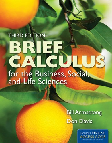 Brief Calculus for the Business, Social, and Life Sciences  3rd 2014 edition cover
