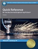 Quick Reference for the Mechanical Engineering PE Exam  5th edition cover