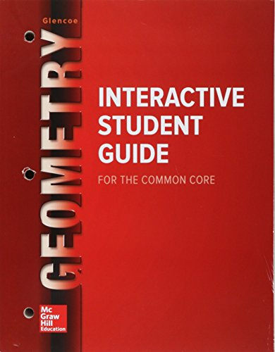 Geometry Interactive Student Guide   2014 9780021439164 Front Cover