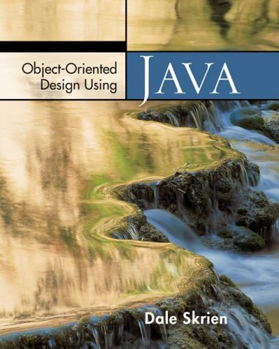 Object-Oriented Design Using Java   2009 edition cover