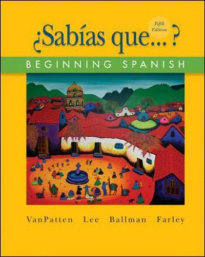 Beginning Spanish (�Sab�as Que... ?)  5th 2008 edition cover
