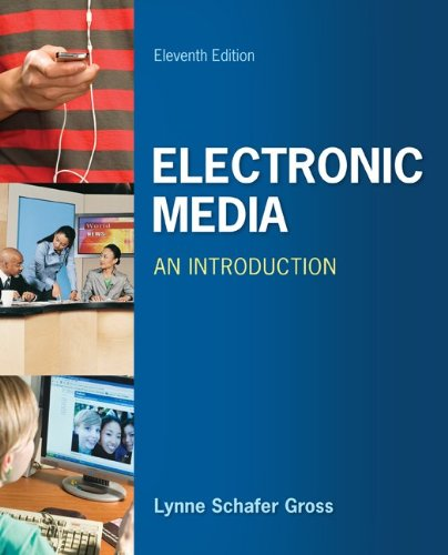 Electronic Media: an Introduction  11th 2013 edition cover