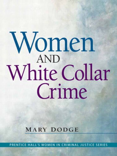 Women and White Collar Crime   2009 edition cover