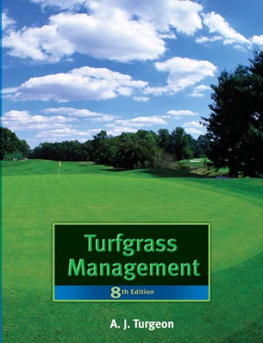 Turfgrass Management  8th 2008 edition cover
