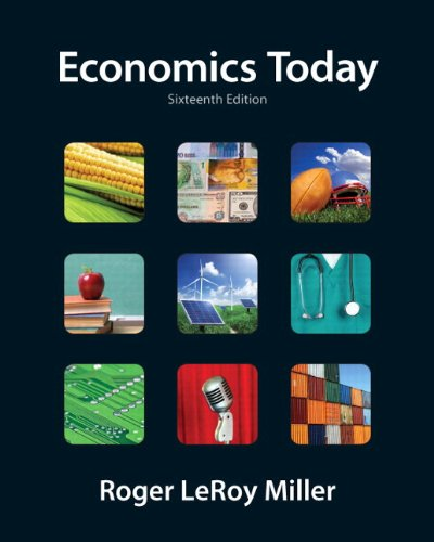 Economics Today  16th 2012 9780132786164 Front Cover