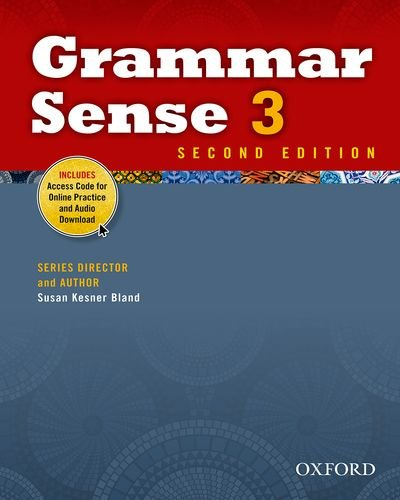 Grammar Sense 3  2nd (Student Manual, Study Guide, etc.) edition cover