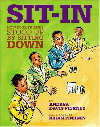 Sit-In How Four Friends Stood up by Sitting Down  2010 edition cover