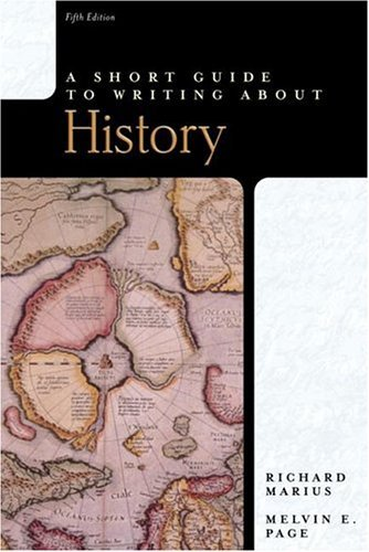 Short Guide to Writing about History  5th 2005 (Revised) edition cover