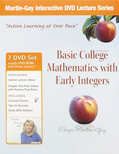 Basic College Math With Early Integers:   2011 9780321748164 Front Cover