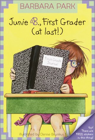 Junie B., First Grader (At Last!)   2001 edition cover