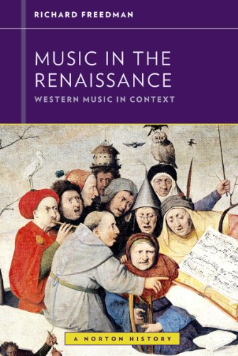 Music in the Renaissance   2013 edition cover