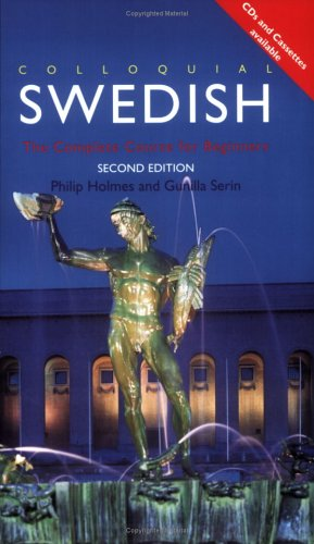 Colloquial Swedish A Complete Language Course 2nd 1996 (Revised) edition cover