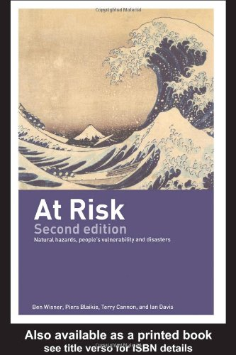 At Risk Natural Hazards, People's Vulnerability and Disasters 2nd 2003 (Revised) edition cover