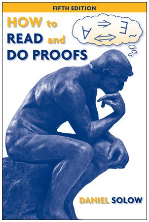How to Read and Do Proofs An Introduction to Mathematical Thought Processes 5th 2009 edition cover
