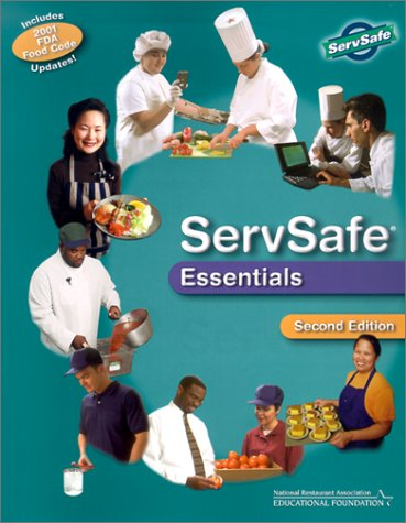 ServSafe(r) Essentials, with the Scantron Certification Exam Form  2nd 2002 9780471225164 Front Cover
