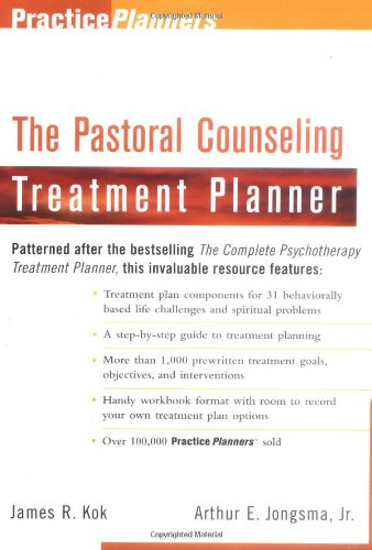 Pastoral Counseling Treatment Planner   1998 9780471254164 Front Cover