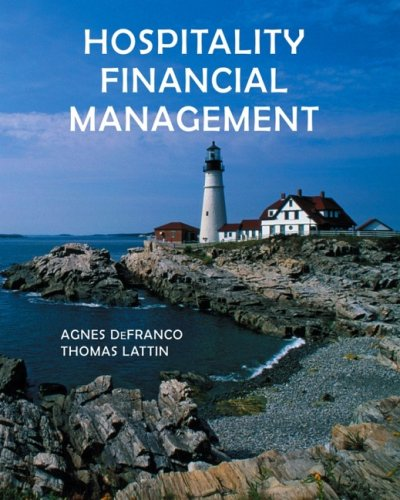 Hospitality Financial Management   2007 edition cover