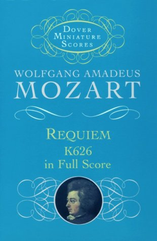Requiem, K626, in Full Score  N/A edition cover
