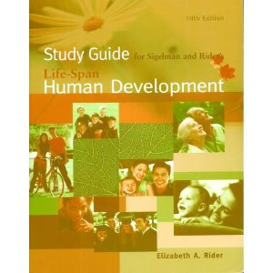 Life-Span Human Development  5th 2006 (Student Manual, Study Guide, etc.) 9780495030164 Front Cover