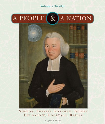 People and a Nation A History of the United States - To 1877 8th 2008 edition cover