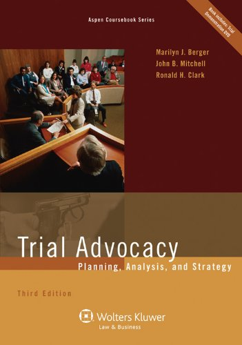Trial Advocacy Planning Analysis and Strategy 3e 3rd 2011 (Revised) edition cover