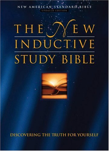 New Inductive Study Bible   2000 (Revised) edition cover